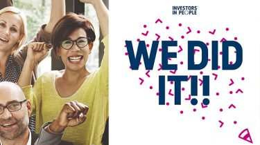 We Did It! Investors in People Gold Accreditation